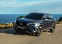 Cupra Formentor: le prime foto del SUV ibrido in strada
