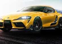 Toyota Supra, ecco il kit TRD