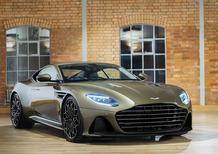 Aston Martin DBS Superleggera, l'edizione speciale dedicata a James Bond
