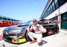 Dovizioso prova l'Audi RS 5 DTM a Misano, in vista della gara