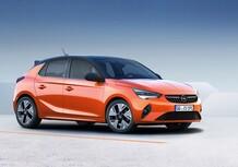 Opel Corsa-e: foto e dati ufficiali dell'elettrica