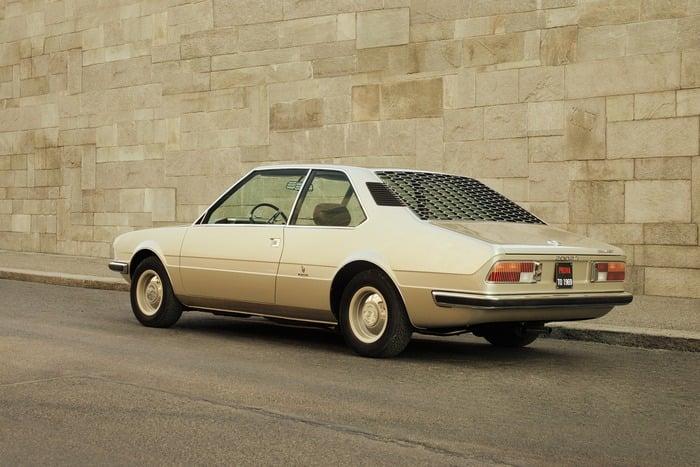 Il posteriore della concept del 1970 rifatta oggi da BMW