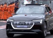 F1, GP Monaco 2019: il Principe Alberto su Audi e-tron