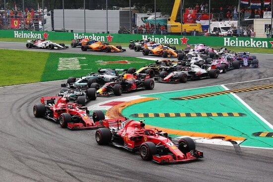 Il noto imbuto della 1^ variante a Monza