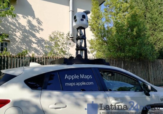 Le auto di Apple Maps in giro per l'Italia: ecco dove trovarle