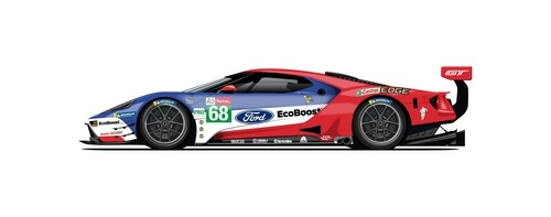 Ford GT: alla 24 ore di Le Mans con 5 livree celebrative (4)