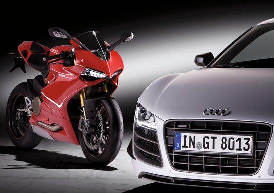 Audi Select, un noleggio e tanti modelli. Anche Ducati