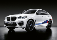BMW X3 M e X4 M, arrivano le Performance Parts