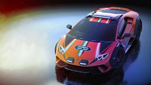 Lamborghini Huracan Sterrato, supercar da offroad (6)