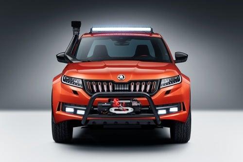 Skoda Mountiaq Concept, la Kodiaq diventa pick-up (3)