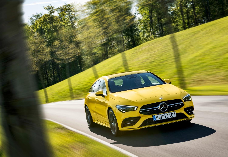 Mercedes-AMG CLA 35, ora anche Shooting Brake