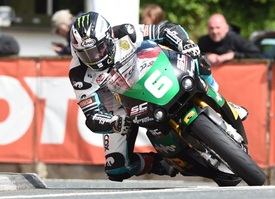 Michael Dunlop a Quarterbridge