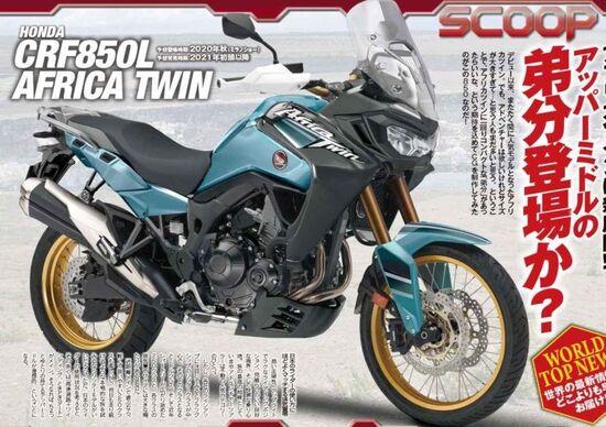 Honda CRF 850L Africa Twin (oppure Transalp?) 2020. Rumors