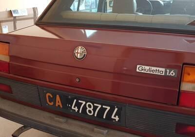 Giulietta 1.6 d'epoca del 1985 a Monastir