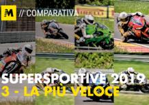 Comparativa Supersportive 2019. La più veloce a Pergusa