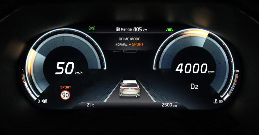 """Kia XCeed: ecco come sarà il quadro digitale da 12,3"""""""