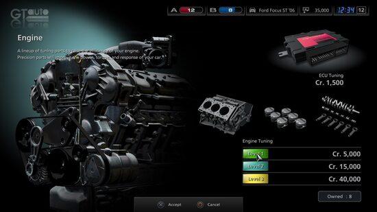 Da sempre una feature apprezzata dagli utenti appassionati, speriamo che in Gran Turismo 7 tornerà la possibilità di elaborare la nostra auto