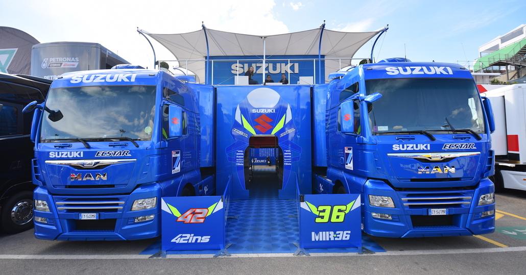 MotoGP, dietro le quinte del Team Suzuki