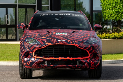 Aston Martin DBX: prodotti i primi esemplari (2)