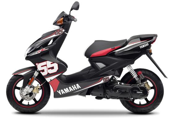 Nuovo Yamaha Aerox SP55