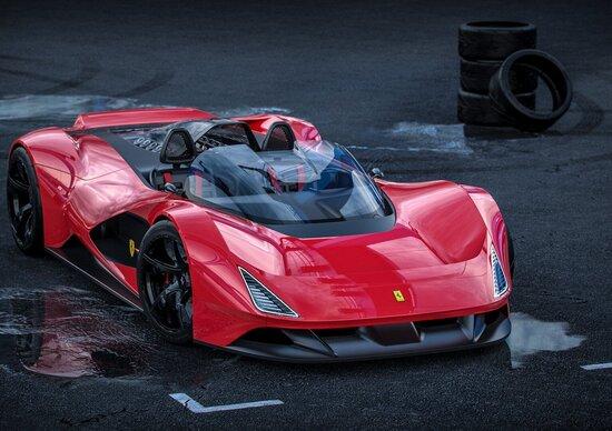 Ferrari Aliante Barchetta, V12 aspirato, cambio manuale e niente elettronica