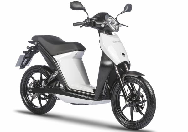Quadro Oxygen, lo scooter elettrico 2 ruote