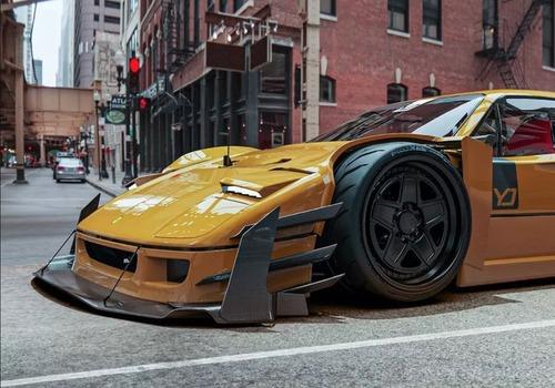 La spettacolare Ferrari F40 V12 di Yasid Design (3)