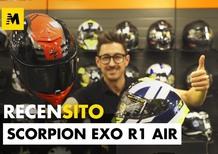 Scorpion Exo R1 Air, il casco integrale racing per moto da strada. Recensito