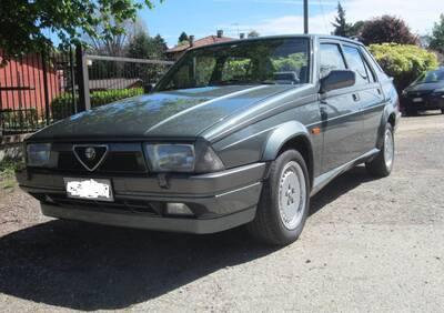 75 Twin Spark 2000 d'epoca del 1989 a Poirino