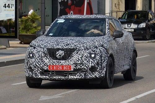 Nissan Juke 2020, le foto spia  (7)