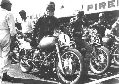 Bruno Ruffo e il primo titolo mondiale Moto Guzzi nella velocità (2)