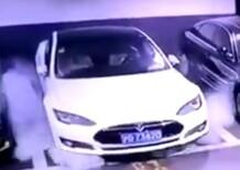 Incendio Tesla Shanghai, rivelata la causa