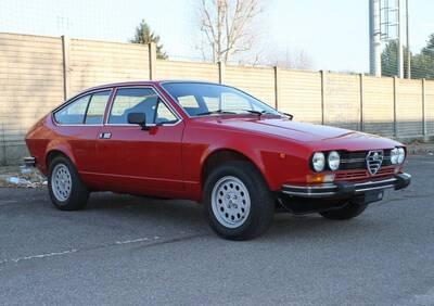 Alfetta GTV 2.0L d'epoca del 1980 a Busto Arsizio