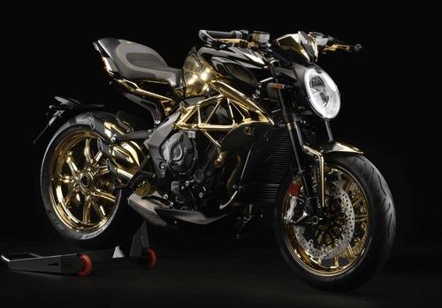 MV Agusta Dragster RC Shining Gold. Oro puro