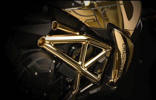 MV Agusta Dragster RC Shining Gold. Oro puro (8)