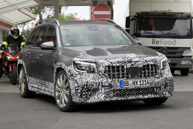 Mercedes-AMG GLB 45, le foto spia