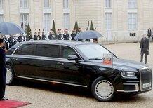 Putin a Roma: prove di ingresso a Palazzo Chigi per la limousine presidenziale [Video]