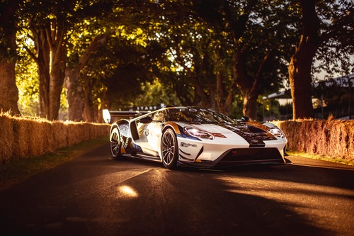 Ford GT MKII, debutto a Goodwood (3)