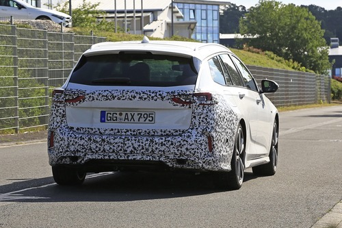 Opel Insignia restyling, le foto spia  (6)