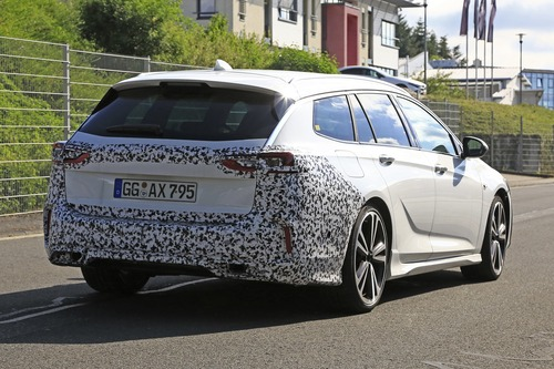 Opel Insignia restyling, le foto spia  (9)