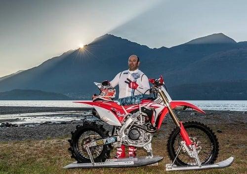 Luca Colombo a caccia del record di velocità sull'acqua (2)