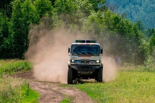 Silk Way Rally 2019-1. Al Attiyah (Toyota) e i Fratelli Benavides (9)