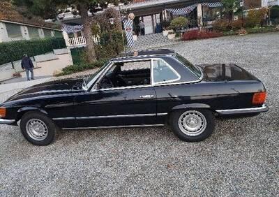 SL 350 d'epoca del 1973 a Aosta