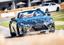 Lexus LC Convertible: sarà prodotta come modello di serie