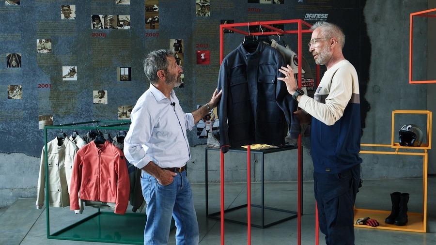 Nico Cereghini e Renato Montagner parlano della collezione Dunes