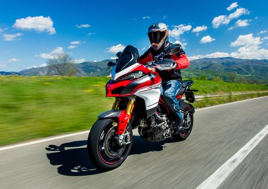 Ducati Multistrada V4, video spia