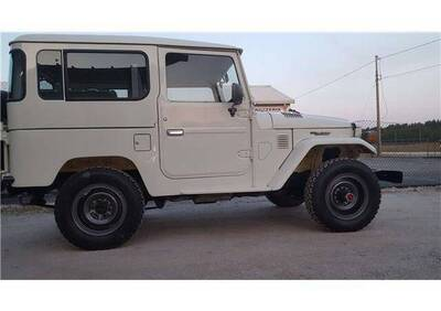 Land Cruiser BJ d'epoca del 1983 a Ferrara