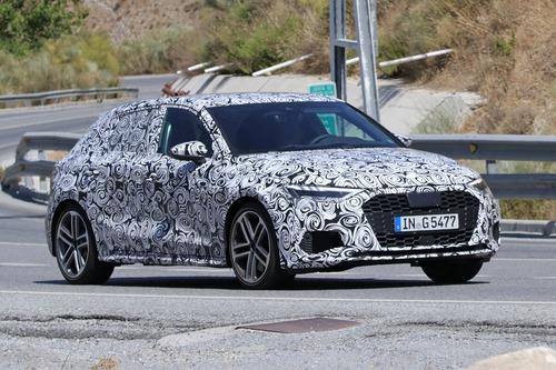 Audi S3 Sportback, le foto spia (3)