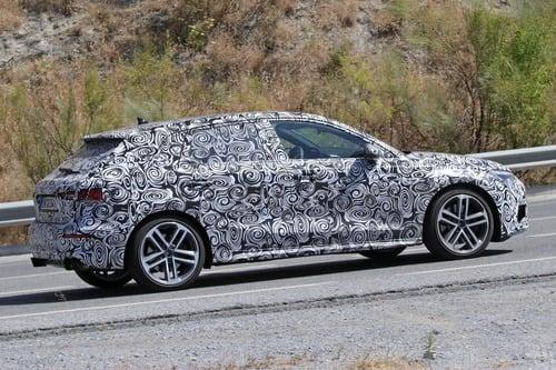 Audi S3 Sportback, le foto spia (6)