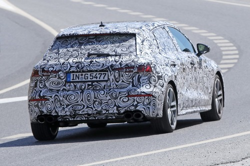 Audi S3 Sportback, le foto spia (8)
